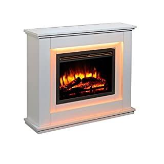 Endeavour Fires Castleton Electric Fireplace Suite