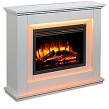 Amazon Fr Cheminee Electrique Effet Flamme