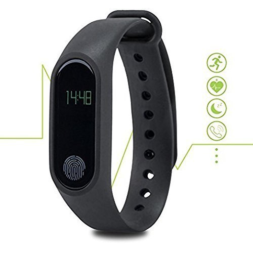 Samsung Beat 3510 COMPATIBLE Fitness Tracker OLED Screen Display Smart Wristband with Heart Rate Monitor, Sleep tracker, Pedometer, Calories & Distance Calculator , Anti Lost Function Controlled with Smart App by SYL PLUS