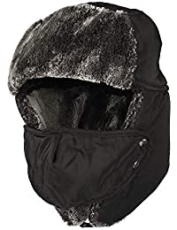 2f03dbaf6d9 WITHMOONS Winter Trapper Russian Hat Earflaps Windproof Cap AZT0016