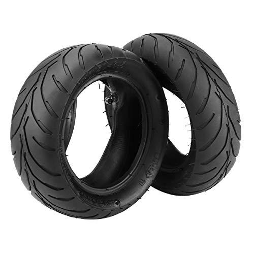 Wooya 47Cc 49Cc Mini-Pocket Bike Tire + Inner Tube 110/50-6.5 90/65-6.5 Front/Rear-2