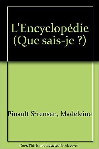 encyclopedie que sais je