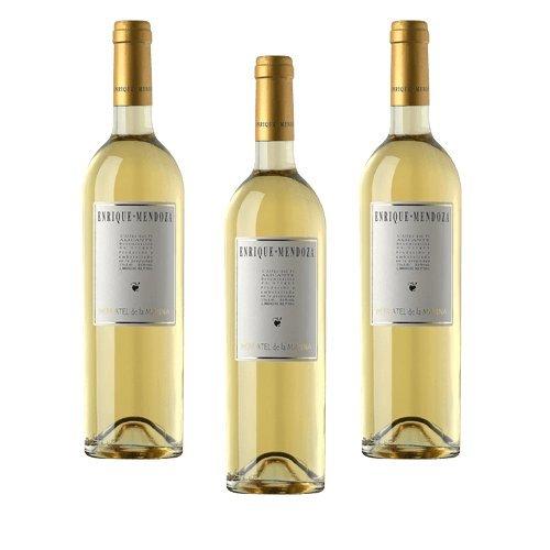Enrique Mendoza Moscatel De La Marina - Vino Blanco - 3 Botellas