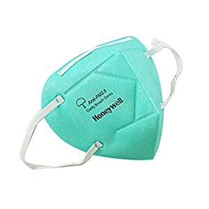Multicolor Pack of 3 Honeywell PM 2.5 Foldable Face Mask
