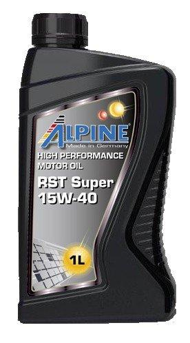 Alpine RST 15W-40 Motoröl 1L mineralisch, 1000ml Flasche 0100010