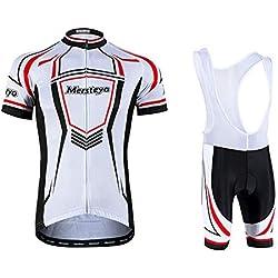 jersey Ropa De Ciclismo Conjunto De Ciclismo Unisex Ropa De Ciclismo Ropa De Bicicleta Transpirable Conjuntos De Mangas Cortas 4-XL