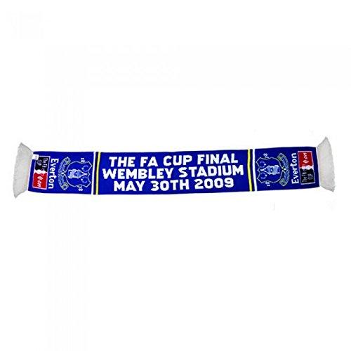 Everton FC – Bufanda oficial de punto Final FA Cup 2009