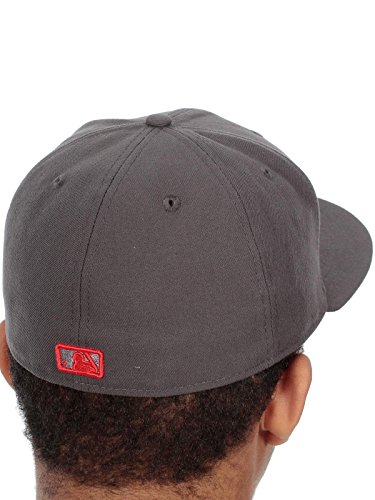 New Era Homme Casquettes / Fitted Seasonal Contrast Boston Red Sox Gris