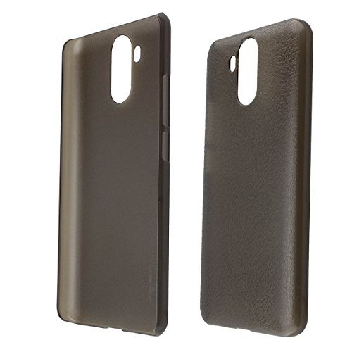 caseroxx Backcover für Ulefone Power 3 / 3s, Tasche (Backcover in schwarz-transparent)