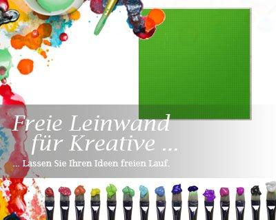 Bilderdepot24 toile inverti, paintable qualité Premium, monté sur toile tendue - bois véritable - format carré - 50x50 cm - 310g/m² - complètement encadrée, 7 couleurs disponibles