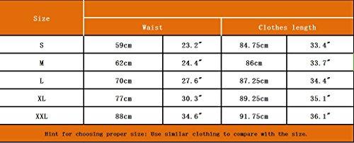 Abollria Damen Chiffon Rock Lange A-Linien Röcke Swing Maxirock mit Unterrock