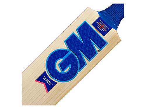 Gunn & Moore G&M Cricket BAT Siren 808 L540 Kricket-Schläger, Holz, Kurzer Griff