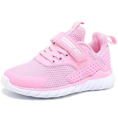HOBIBEAR Mädchen Turnschuhe Kinder Sneakers Hallenschuhe Outdoor Laufschuhe Sport Schuhe