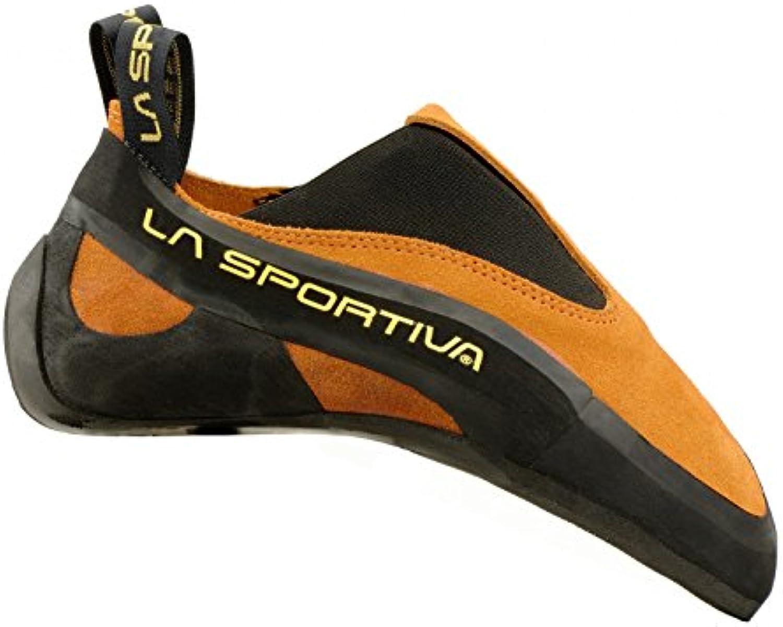 La Sportiva Cobra   Orange   EU 35.5 / UK 3 / US M 4 / US W 5   Sensibler präziser Kletterschuh