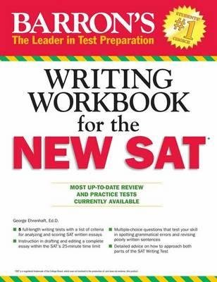 [ { Barron's Writing Workbook for the New SAT } ] BY ( Author ) Nov-2015 [ Paperback ]