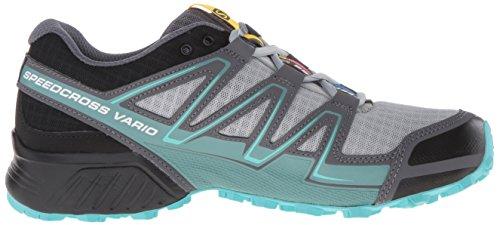Salomon L38310700, Scarpe da Trail Running Donna, Blu Grigio