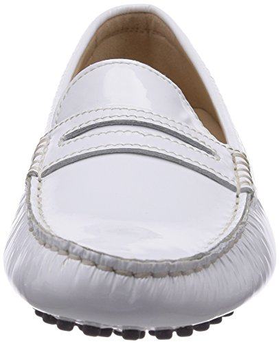 Sioux Raina, Mocassini donna Bianco (Weiß (weiss))