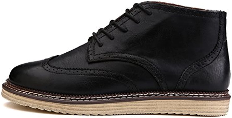Herbst Herrenschuhe/Herren Freizeitschuhe/Hohe Schuhe/Britische Retro Schuhe/Koreanischen Spitze Männer Schuhe