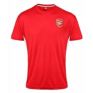 Kids Official Arsenal F.C Personalised Gift Boxed Football Shirt Red 10-11 Years