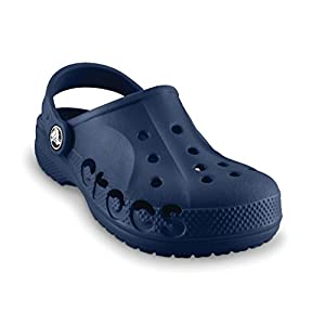 Crocs Kids Unisex Baya Navy Clogs and Mules – C8/9 [Shoes]_10190-410-C8C9