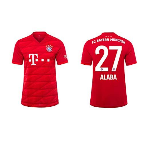 SKLLA FC Bayern Munich 27# ALABA Uniforme de fútbol,   Camiseta de fútbol para niños Sudadera...