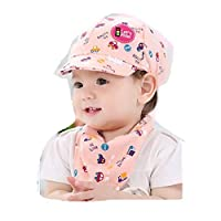 Bibao Baseball Cap,Unisex Baby Kids Boys Girls Cartoon Car Print Golf Sun Hat Sports Outdoor Cap (Pink)