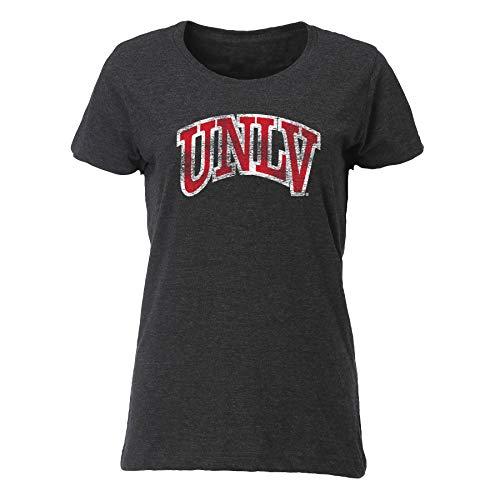 Ouray Sportswear NCAA Damen-T-Shirt, Vintage-Mischung, Relaxed Fit, Damen, Women's Vintage Blend Relaxed Fit Tee, Vintage Smoke, X-Large - Womens Vintage Tee