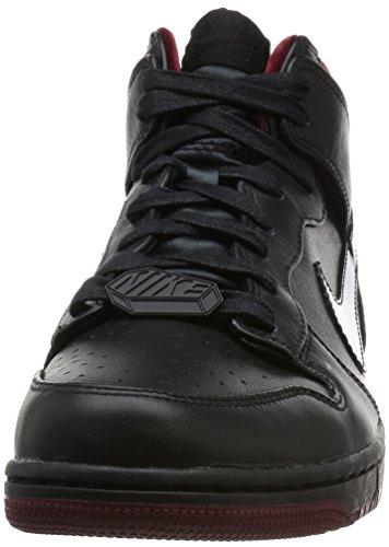Nike Dunk Cmft Prm Qs, espadrilles de basket-ball homme Multicolore - Negro / Rojo (Black / Black-Team Red)