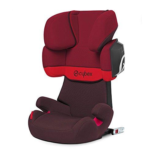 Preisvergleich Produktbild Cybex Silver Solution X2-fix, Autositz Gruppe 2/3 (15-36 kg), mit Isofix, Kollektion 2018, Rumba Red