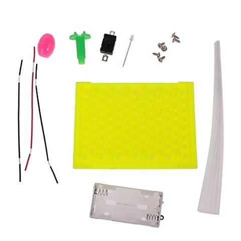 MagiDeal Kinder Diy Montage Spielzeug - Bunte Lichtfaser Lichtleiter Wissenschaft & Physik Experiment Set Lernspielzeug (Zufällige (Wissenschaft Experimente Licht)