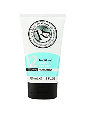 The Real Shaving Company Step 2 Traditional Shave Cream 125 ml by Swallowfield plc