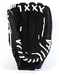 barnett GL-125 gant de baseball cuir 12,5, pour gaucher RH, noir