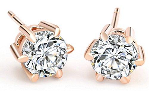 saysure-18k-real-rose-gold-platinum-plated-crystal-stud-earrings