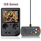 Kalolary 168 games Retro Handheld Game Console, FC System Plus Extra Joystick Portable