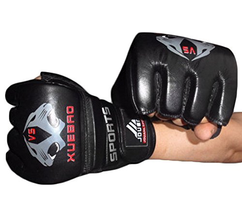 Erwachsene Kämpfen Halbfingerhandschuhe -UFC Boxhandschuhe - Handschuhe MMA - Sc