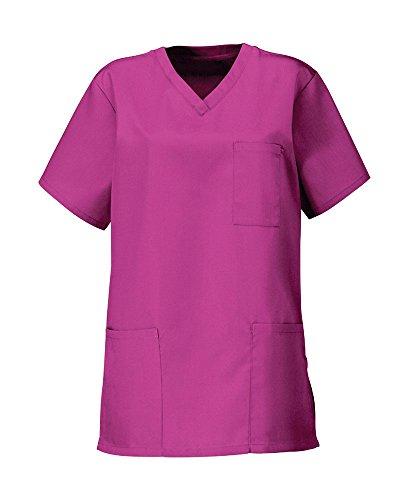 Deep Pink Krankenhaus Scrub Tunika-Funky Unisex Ärzte Work Wear
