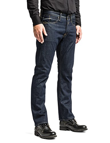 Replay Herren Straight Leg Jeanshose M983U .000.118 07D Blau (7)
