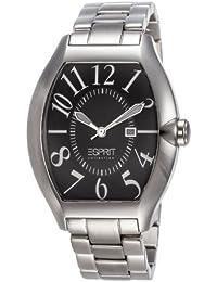 Esprit Collection Herren-Armbanduhr hector black Analog Quarz Edelstahl EL101081F06