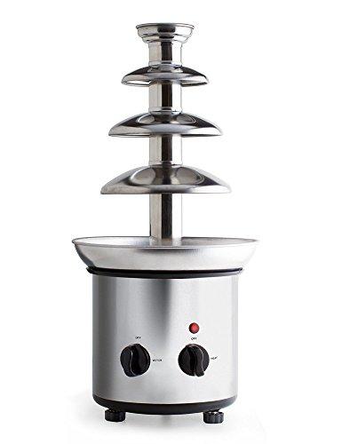 Fontaine à Chocolat / chocolat fontaine 45 cm, 4 assiettes nouveau système)