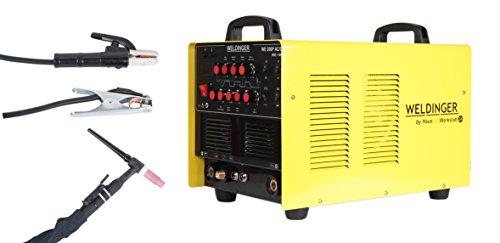 Preisvergleich Produktbild Weldinger WIG-Schweißgerät WE 200P AC/DC - Inverter zum Schweißen von Aluminium