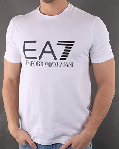 266689e4a Emporio Armani EA7 Ea7 Train Logo Series M Multicol Logo tee White M