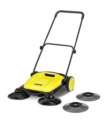 Kärcher 17663070 S 650 2-in-1 Push Sweeper, Yellow