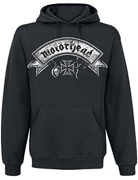 Motörhead Logo With Rockers Sudadera con capucha Negro