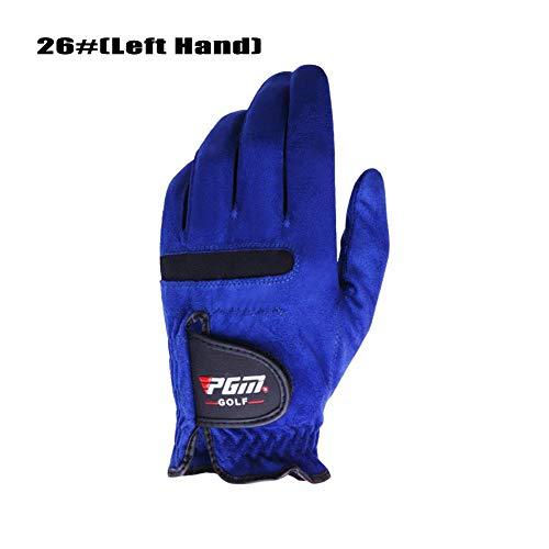 1 STÜCKE Männer Rechts/Linke Hand Golfhandschuhe, Schweißabsorbierend Griff Weiche Bequeme Atmungsaktive Rutschfeste Handschuhe