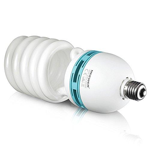 Neewer 85W 220V 5500K Tri-Fosforo Spirale Bulbo Fluorescente Compatto...