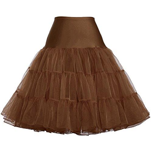 Unterrock 50s vintage Petticoat Rockabilly Kleid 1950 Petticoat Reifrock Underskirt Brautkleid...