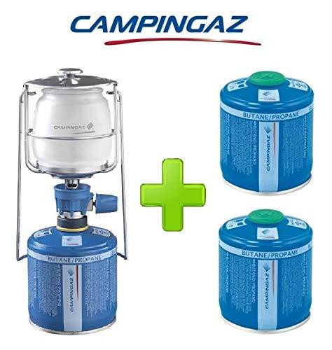 ALTIGASI Lanterne Lampe à gaz Campingaz LUMOGAZ Plus de 80 W + 2 pièces Cartouche CV 300 de 240 GR