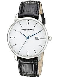 Stuhrling Original Ascot 997L.01 - Reloj de pulsera Cuarzo Hombre correa dePiel Negro