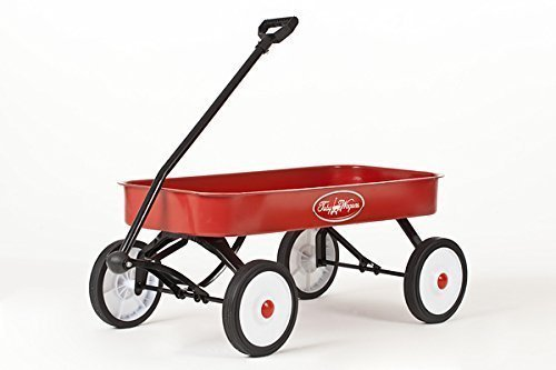 toby-classic-red-wagon-pull-cart-the-best-pull-along-metal-retro-trolley-ce-certified-for-child-safe