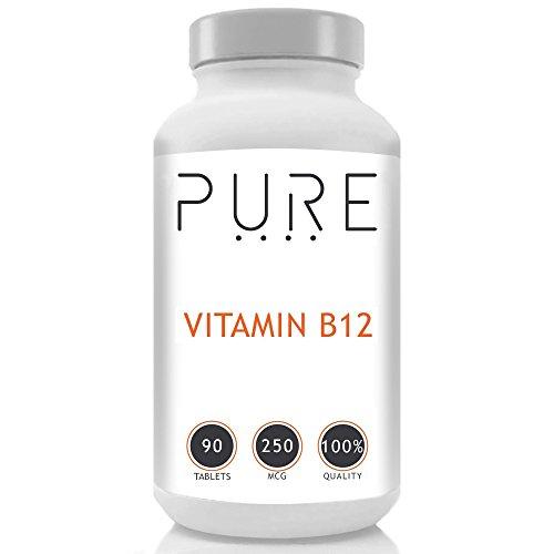Bodybuilding Warehouse Puro Vitamina B12 Compresse 250mcg - 90